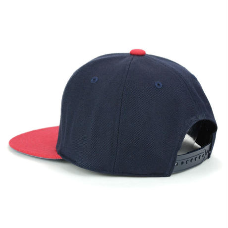 [VIX x SHIRL]コラボレーション  SNAP BACK CAP (NAVY/RED) (SH170210VIX)