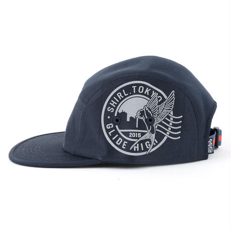 STAMP COMFORT-5 CAP (NAVY) made in japan (SH150101NVY)