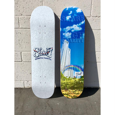 "SHIRL ""PHOTO DECK"" team model  SKATE DECK  [MADE IN USA]"