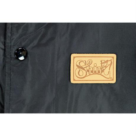 SHIRL-7 NYLON COACH JKT  (BLACK)(SH161011BLK)(数量限定)
