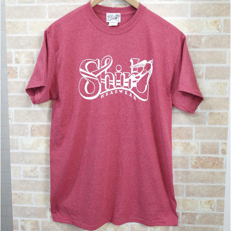 BIG SHIRL SS T-SHIRTS  (HEATHER RED)(SH191202RED)