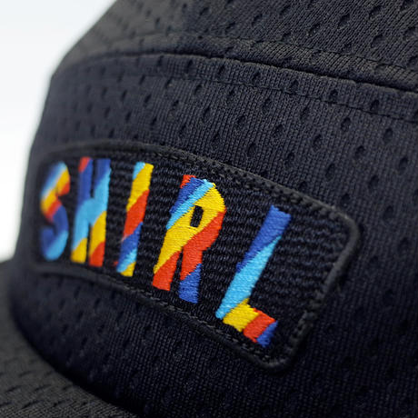 RAINBOW ARCH COMFORT-5 CAP (BLACK MESH) made in japan (SH180113BLK)