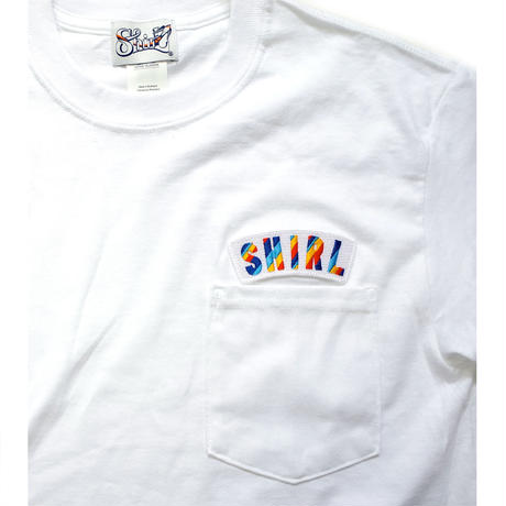 再入荷!RAINBOW ARCH SS POCKET T-SHIRTS  (WHITE)(SH181213WHT)