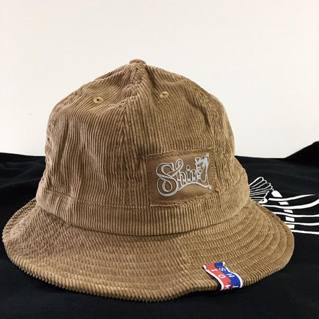 FRAME FLOCKY CORDUROY METRO HAT ( SH202101TAN)