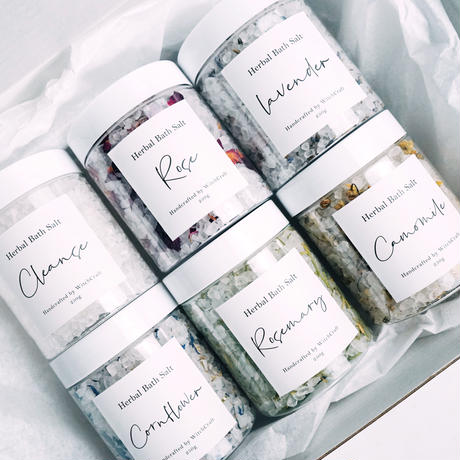 Herbal Bath Salt Set