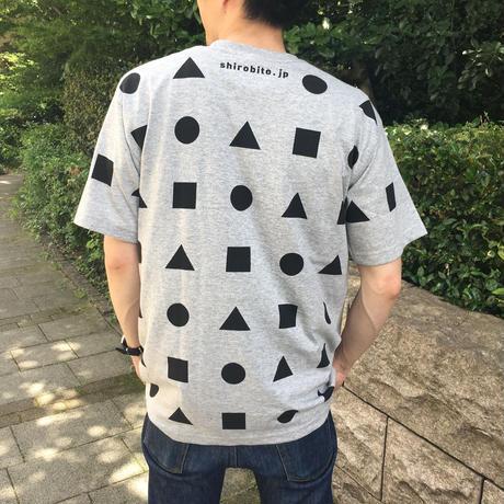 城びとTシャツ(狭間/グレー/ユニセックス)※宅配便での発送