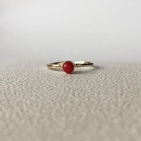 red drop ring (gd