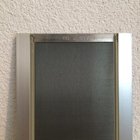 A134【USED】ステンレス筬 950羽  内寸600mm
