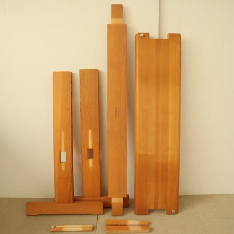 T081【USED】Glimakra社 スウェーデン グリモクラ 高さ調整可能 機織用椅子