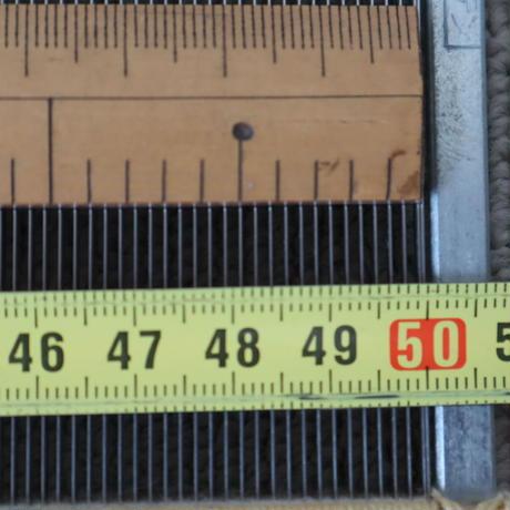 P087【USED】ステンレス筬 65羽/10㎝  内寸50㎝
