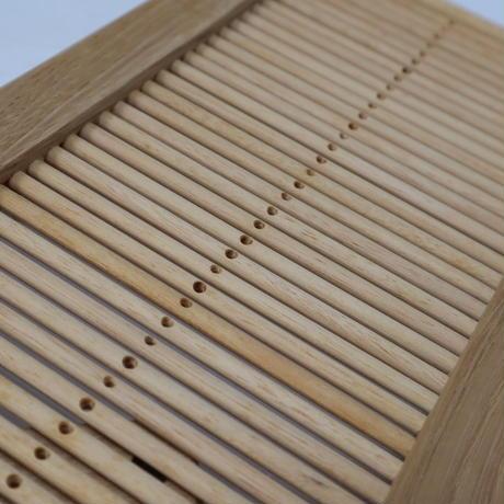 N065【USED】木製ハンド織機 腰機 綜絖筬 460mm×160mm