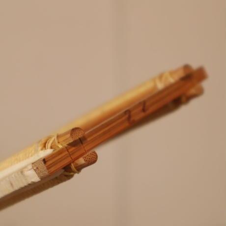 T057【USED】竹筬 鯨寸 22羽  内寸100.3㎝
