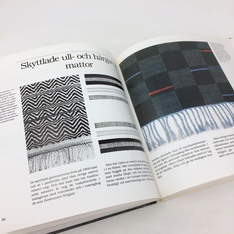【古本】B153 Fran enris till flossa / En bok om handvavda mattor i Sverige