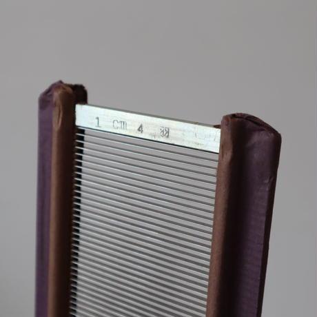 P074【USED】ステンレス筬 40羽 /10cm 内寸64.7㎝