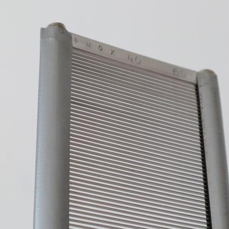 N053【USED】INOX ステンレス筬 40羽 62.5cm 内寸59.8cm