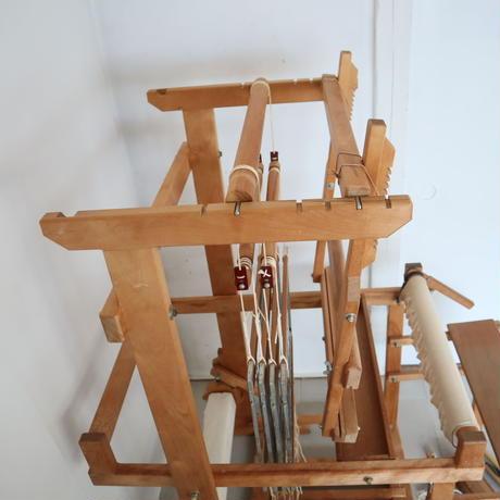 P089【USED】特注織機(メーカー不明) 踏み板6枚、4枚綜絖