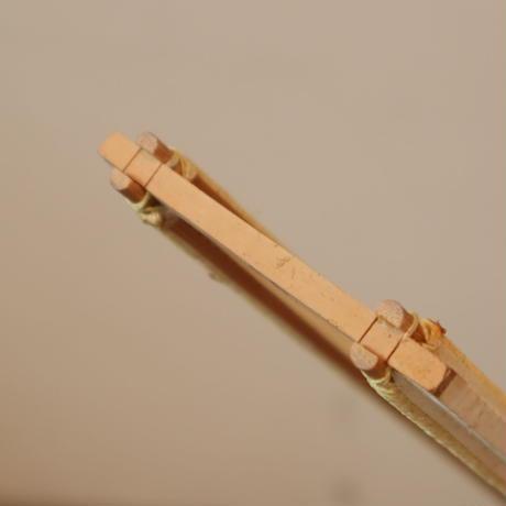T063【USED】竹筬 鯨寸10羽  内寸102㎝