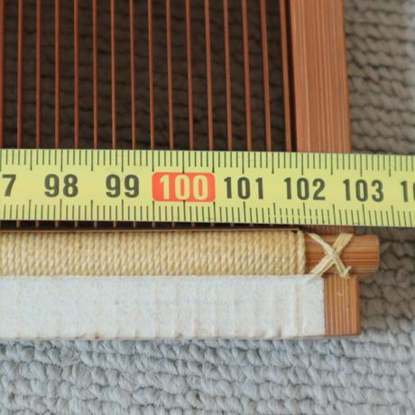 T058【USED】竹筬 鯨寸12羽  内寸100㎝