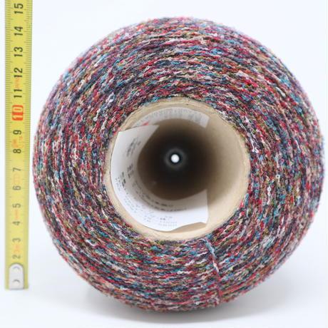 【糸】E064 三葉トレーディング社 カスリ杢 3本撚り 531g(コーンの重さ込み)