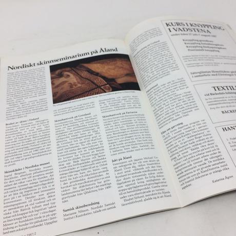 【古本】B205   Hemslöjden Magazine   1987/2