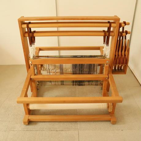 T053【USED】メーカー不明 卓上織機 4枚綜絖 最大織幅50cm