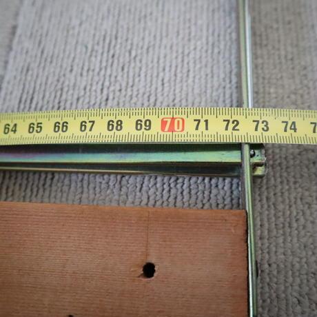 M083【USED】ステンレス綜絖枠  2枚セット