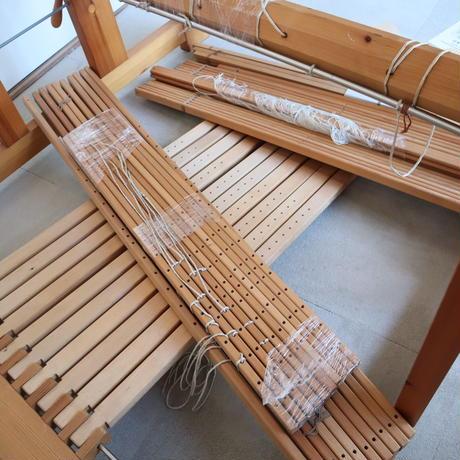 R024【USED】Glimakra社 グリモクラ 説明書付き 織幅120cm 踏木10枚 10枚綜絖(糸綜絖)スウェーデン