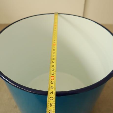 T079【USED】染色用 琺瑯寸胴鍋  25L
