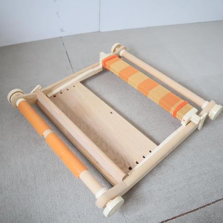 T006【USED】<クロバー> 卓上手織機  40cm(30羽セット) Clover  咲きおり  ※不足パーツ有