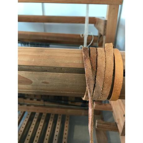 L074【USED】<文川式> 機織 高機 ろくろ式 伝統機織 鹿児島 踏機8枚 4枚綜絖 有効織幅70cm