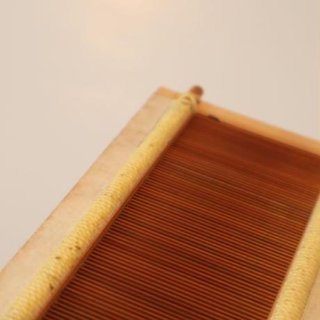 T059【USED】竹筬 鯨寸25羽  内寸103㎝