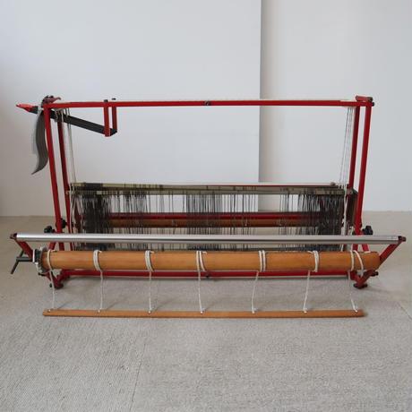 P033【USED】<東京手織>卓上機織 ハンディルーム 4枚綜絖 織幅60cm ※綜絖錆有