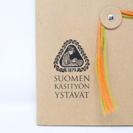 【古本】B2_65   カタログ SUOMEN KASITON YSTAVAT /Suomen käsityön ystävät Friends of Finnish Handicrafts