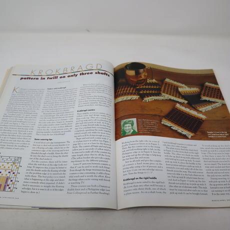 【古本】B2_196 HANDWOVEN March / April 2001