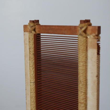 P082【USED】<東京手織>竹筬 50羽 /10㎝ 内寸52cm