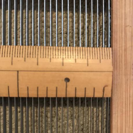 K043【USED】ステンレス筬  4羽/1cm  内寸102.4cm
