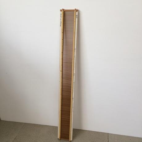 F035【USED】竹筬  鯨寸12.5羽 内寸  65.2cm