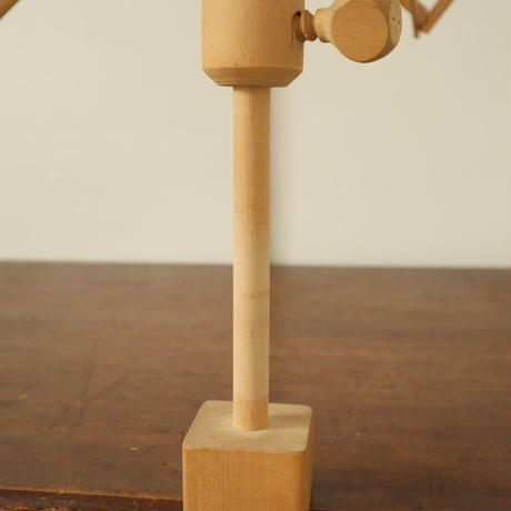 T082【USED】<割れあり> 木製かせくり