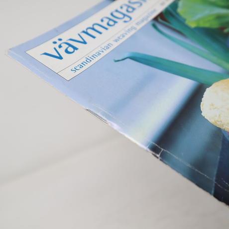【古本】B2_278 Vav Magasinet VÄVMAGASINET NR4 2002 日本語訳小冊子付