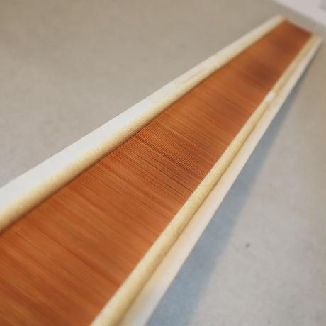 T062【USED】竹筬 鯨寸17羽  内寸102㎝