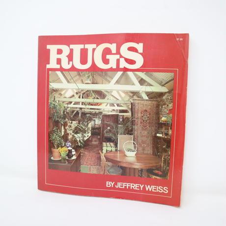 【古本】B2_289 RUGS / JEFFREY WEISS