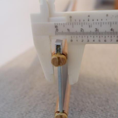 P060【USED】ステンレス筬 鯨寸20羽  内寸42.2 cm