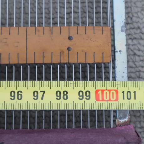 R080【USED】ステンレス筬 30羽 /10cm 内寸100cm