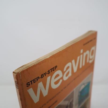 【古本】B2_297 STEP-BY-STEP weaving /Nell Znamierowski