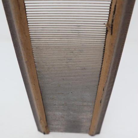 N063【USED】ステンレス筬 60羽 50cm 内寸48.8cm