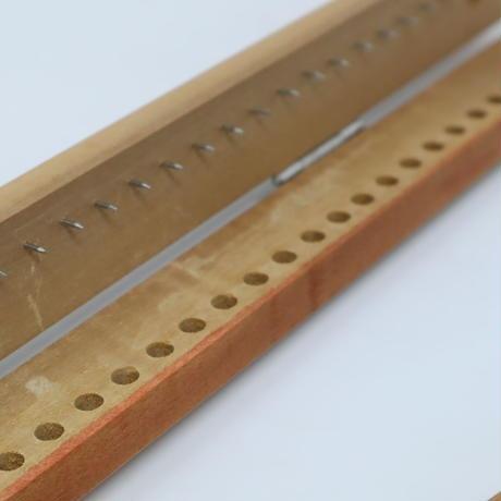 T048【USED】張手 はりて 刷毛染め用 2本組 47cm  44穴