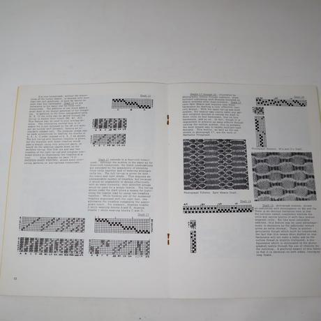 【古本】B2_103 UNDULATING WEFT EFFECTS /Harriet Tidball  1963