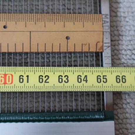 R013【USED】<KIYRU> ステンレス筬 35羽 内寸65㎝