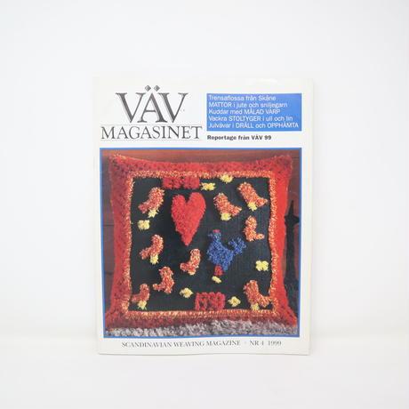 【古本】B2_266 Vav Magasinet VÄVMAGASINET NR4 1999   英訳小冊子付