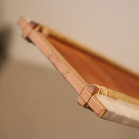 N085【USED】竹筬  鯨寸 32羽  100㎝  内寸 97.8㎝